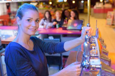 siervo: working at the bar