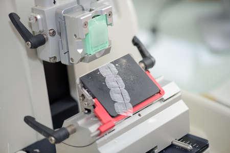 a calibrating machine