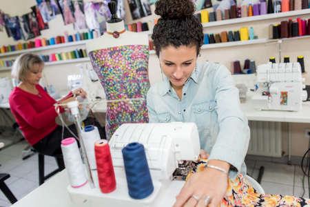 dressmaking: Women dressmaking