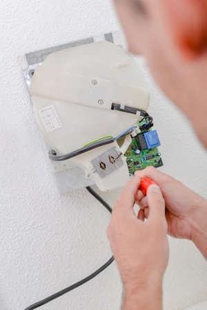 dryer: Repairing an old hand dryer