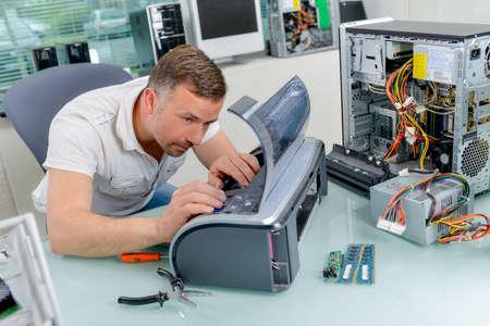 忙しい技術者