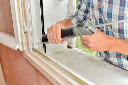Sealing of a window