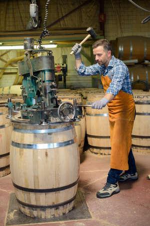 craft material: sealing the barrel