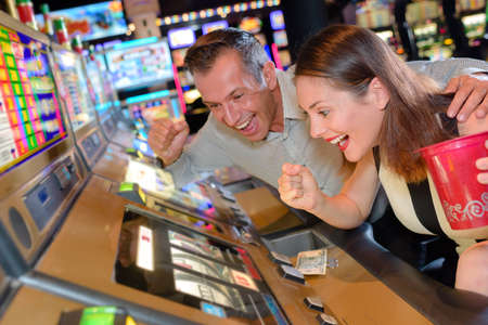 willing: Couple willing slot machine victory