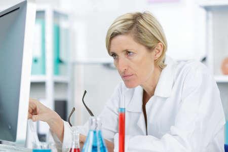 findings: chemist having a problem