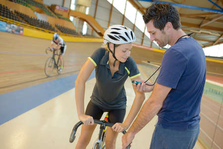 participant: biking participant training