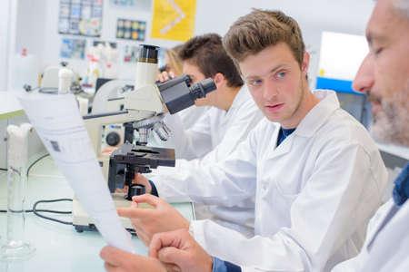 looker: men in the laboratory