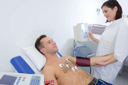 findings: performing a cadiovascular examination