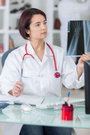 roentgenogram: examining patients x-ray