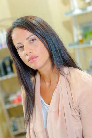 hair conditioner: Hair salon worker