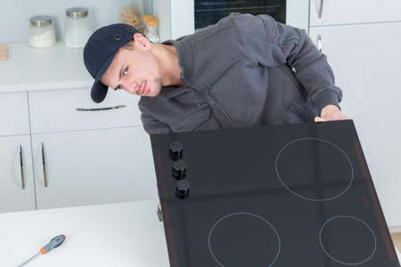 reparation: reparation of modern cooking hob