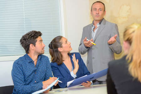 the weekly meeting