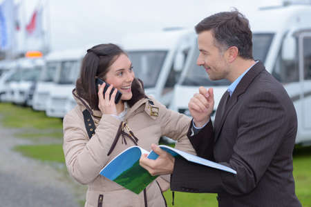 persuades: transaction on the phone