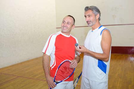 siervo: playing soft tennis