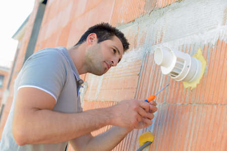 ventilate: Fixing wall vent