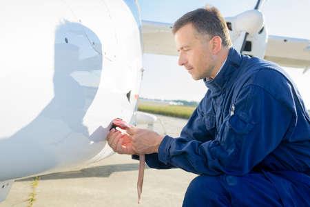 specialised: airplane maintenance engineer