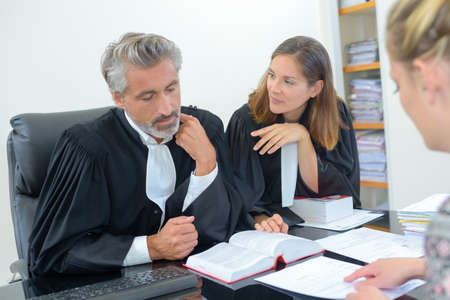 distric: team of attorneys