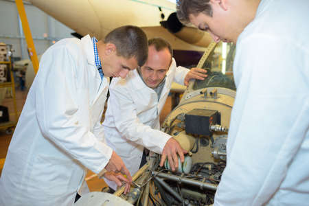 statics: young aerospace engineers
