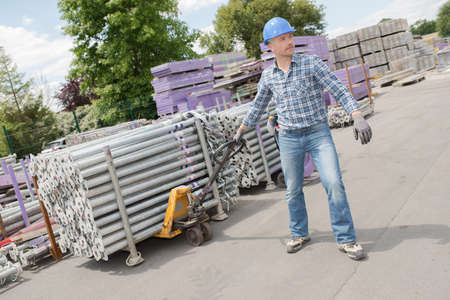 laborer: hand laborer moving products