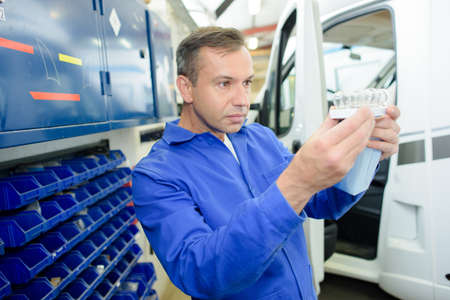 assessing: Mechanic assessing part