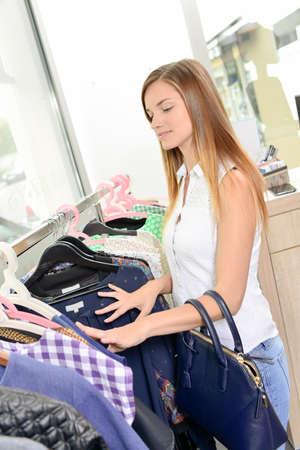 shopper: teenage shopper