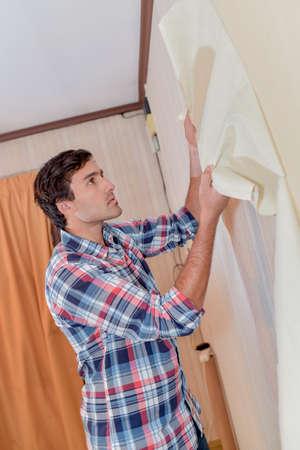 remake: Removing old wallpaper