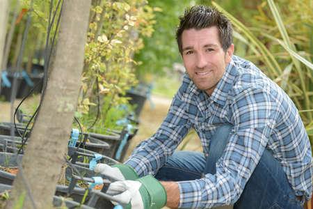 horticulturist: Portrait of horticulturist