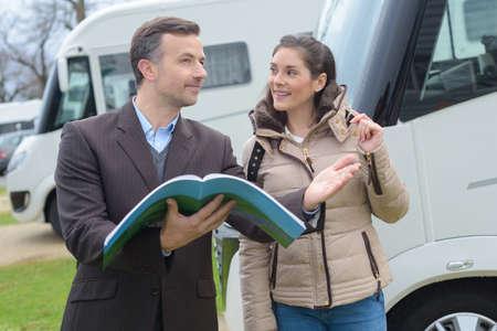 persuades: renting camper van