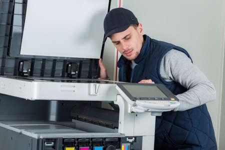 malfunction: fixing the printer