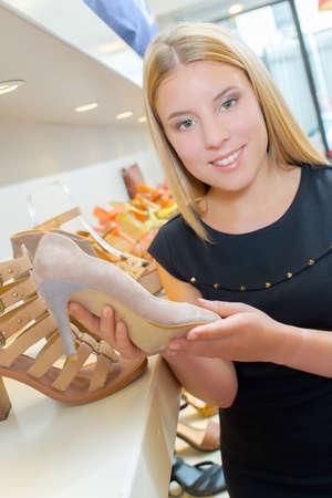 avid: high heels Stock Photo