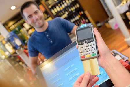 paying: paying credit card for purchases