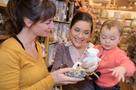 persuades: safe baby toys Stock Photo