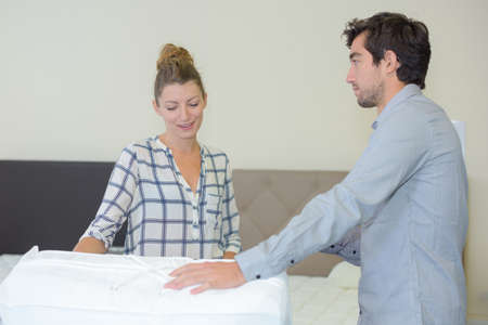 persuades: checking the new mattress