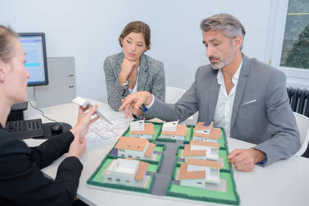 real estate planning: real estate planning Stock Photo