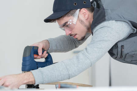cabinetry: artisan construction worker