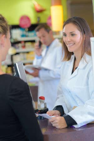 customer records: verification of the prescription