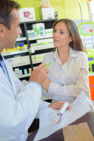 oversee: conversation with the pharmacist