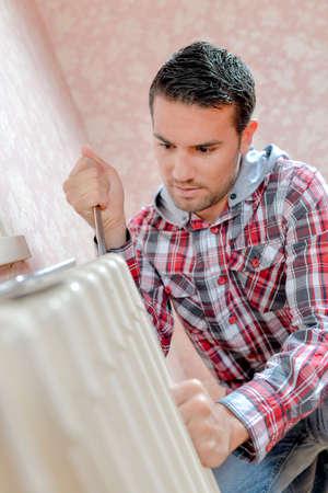 Repair a faulty radiator