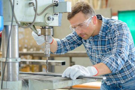 building regulations: drilling metal