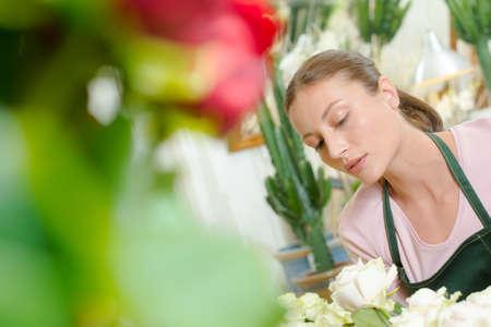 serious florist