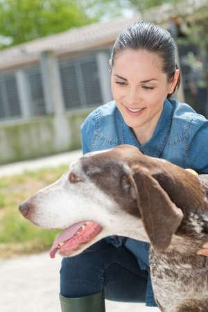 endear: shelter keeper loves her residents