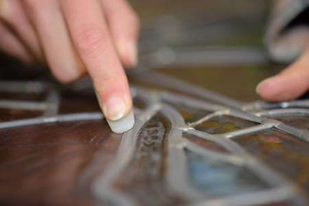 glasswork: putting some pattern on place