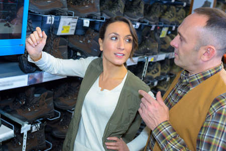 persuades: buying outdoor boots