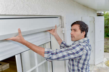 Fitting a new shutter system