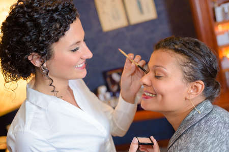 cosmetic product: application of makeup