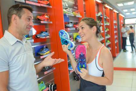 persuades: choice of sport shoes