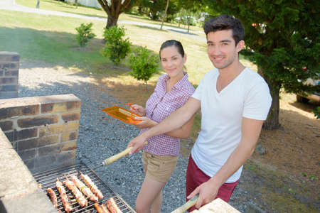 doing summer barbecue
