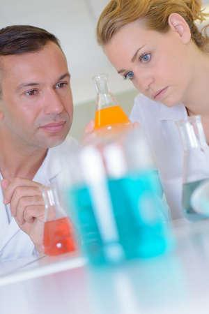 chemist scientist in the laboratory