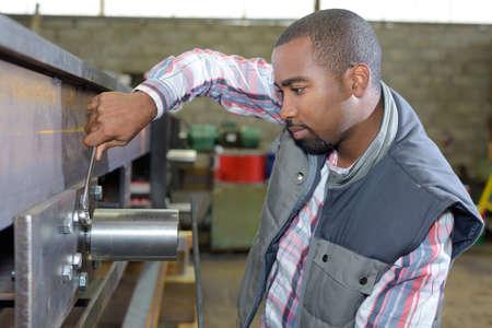 machinery machine: fixing a machine