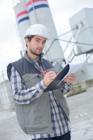 neglecting the environmental rules Stock Photo